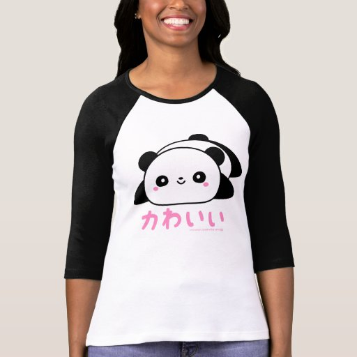 Panda (bonito) de Kawaii T-shirts