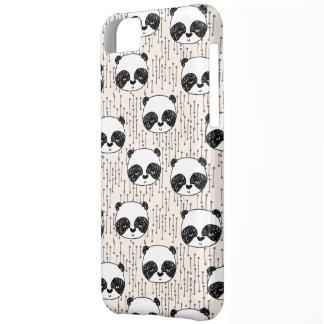 Panda - branco preto de Champagne/Andrea Lauren Capa Para iPhone 5C