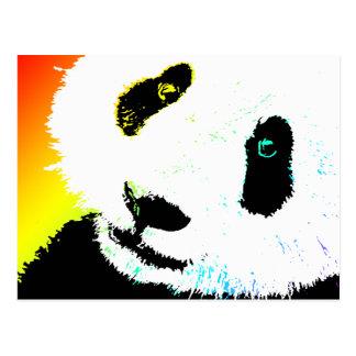 panda. cartão postal