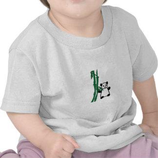 Panda com bambu t-shirt