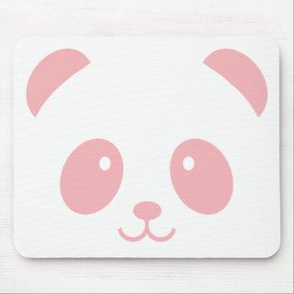 Panda cor-de-rosa bonito e peluches Mousepad