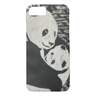 Panda da mãe - urso de panda com filhote - capas