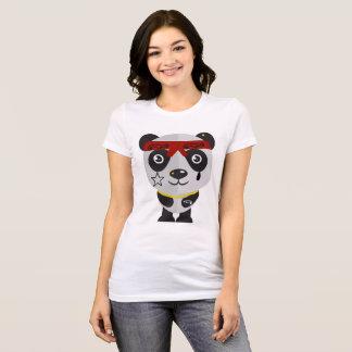 Panda de Gangsta Camiseta