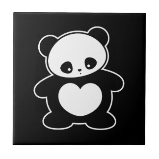 Panda de Kawaii Azulejos