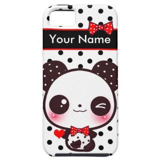 Panda de Kawaii - personalizada Capas Para iPhone 5