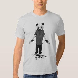 Panda do assassino camiseta