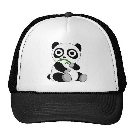 Panda do bebê bonés