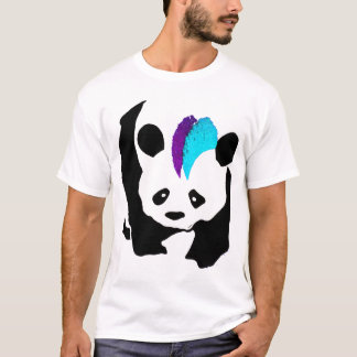 Panda do Mohawk Camiseta