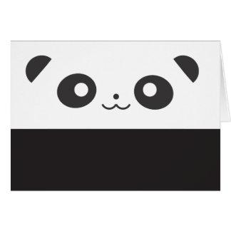 Panda do Peekaboo Cartão Comemorativo