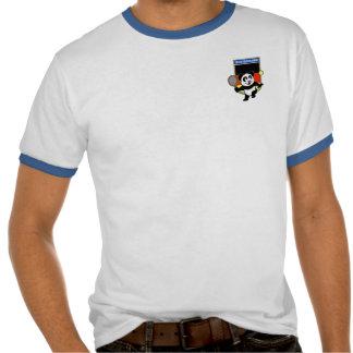Panda do tênis de Alemanha Tshirts