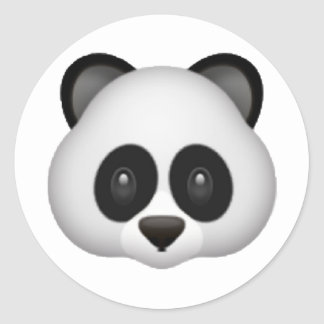 Panda - Emoji Adesivo