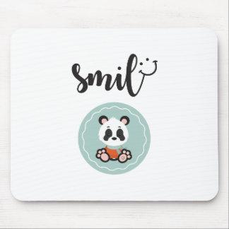 Panda Mousepad do sorriso