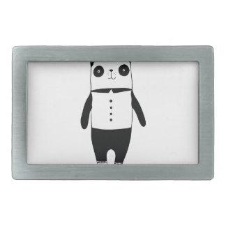 Panda preto e branco pequena
