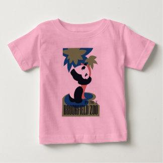 Panda retro do jardim zoológico de Brookfield Camiseta