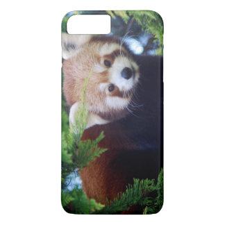Panda vermelha capa iPhone 7 plus