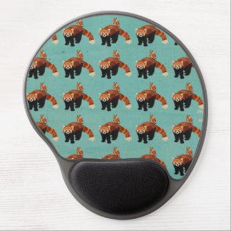 Panda vermelha & coruja Mousepad Mouse Pad De Gel