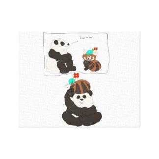 Panda vermelha da panda