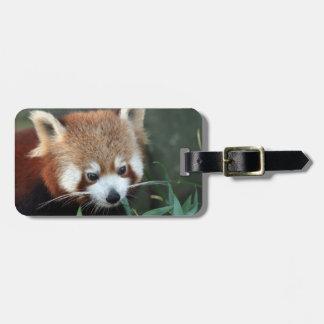 Panda vermelha, jardim zoológico de Taronga, Etiquetas De Bagagens