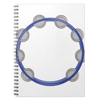 Pandeiro Caderno Espiral