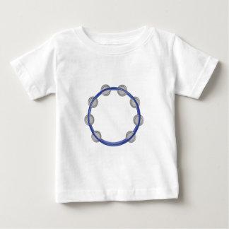 Pandeiro Camiseta Para Bebê