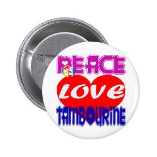 Pandeiro do amor da paz