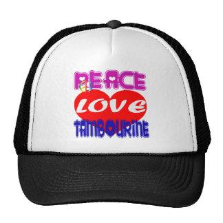 Pandeiro do amor da paz bones