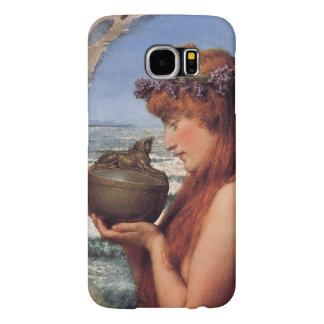 Pandora pelo senhor Lawrence Alma-Tadema Capa Para Samsung Galaxy S6