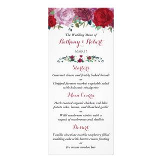 Panfleto A coleção floral romântica do casamento