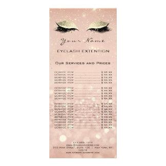 Panfleto A composição da extensão dos chicotes da tabela de
