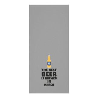 Panfleto A melhor cerveja é em março Zp9fl fabricado