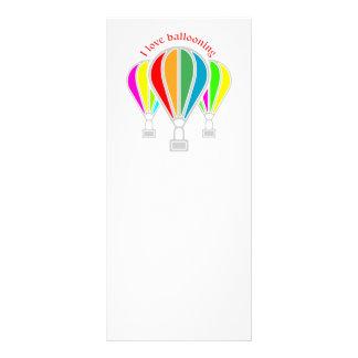 Panfleto Balões de ar quente