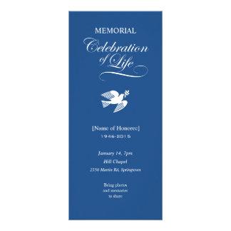 Panfleto Celebração memorável feita sob encomenda da pomba