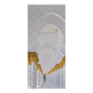 Panfleto Colunas do Sheikh Zayed Grande Mesquita, Abu Dhabi