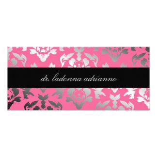 Panfleto Cremalheira do rosa cor-de-rosa de damasco de 311