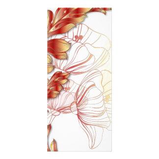 Panfleto Extra grande do marcador das papoilas - vermelho &
