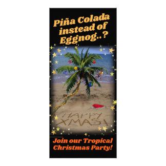 Panfleto Festa de Natal tropical