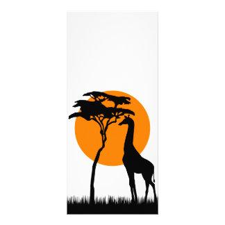 Panfleto Girafa