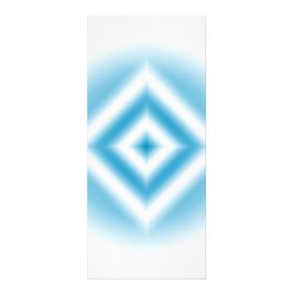Panfleto inclinação azul do diamante do Personalizar-céu