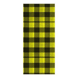 Panfleto Olhar Checkered de serapilheira do teste padrão do