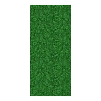Panfleto Paisley verde