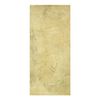 Panfleto Papel envelhecido vintage manchado rústico vazio