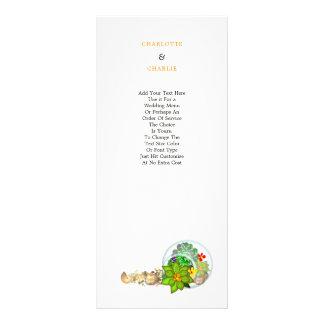 Panfleto Praia botânica dos Succulents | personalizada