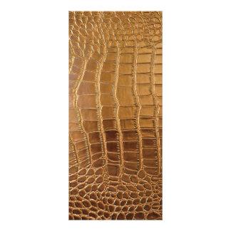 Panfleto Teste padrão da pele animal do couro do crocodilo