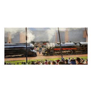 Panfleto Trem - representação histórica 1939 da estrada de