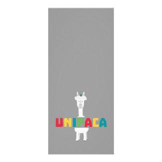 Panfleto Unicórnio Z0ghq do arco-íris da alpaca