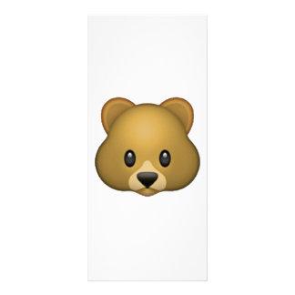 Panfleto Urso - Emoji