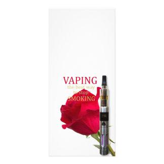 Panfleto Vaping é a melhor maneira de parar de fumar