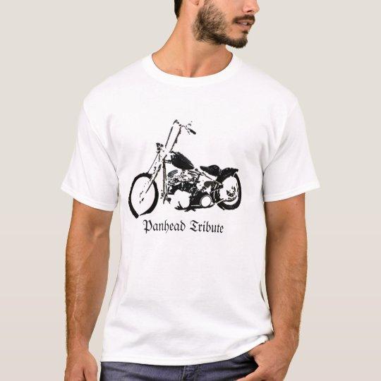 Panhead Tribute Camiseta