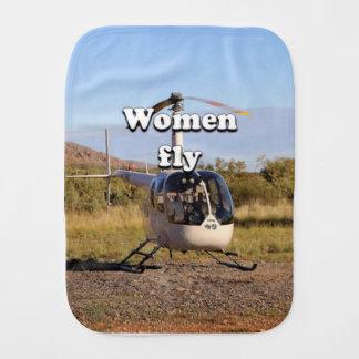 Paninho De Boca As mulheres voam: Helicóptero 2 (brancos)