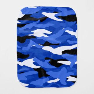 Paninho De Boca Camuflagem azul